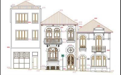 Levantamento Arquitectónico de moradia